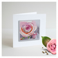 'La Vie En Rose 02' Handmade Greetings Card