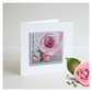 'La Vie En Rose 03' Handmade Greetings Card