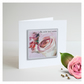 'La Vie En Rose 04' Handmade Greetings Card