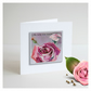 'La Vie En Rose 05' Handmade Greetings Card