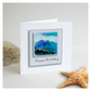 Seascape 'Happy Birthday 03' Handmade Greetings Card