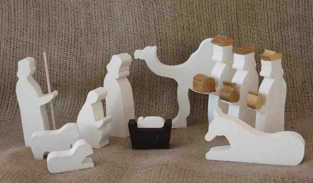 Nativity Set for the Home