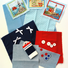 'Lighthouse' - Fabric and Embellishment Pack - Crafts, Hobbies, Supplies, Makers