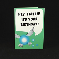 Navi Birthday Wishes - A6 Birthday Card