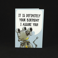 Codsworth Birthday Wishes - A6 Birthday Card