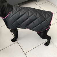 Handmade padded waterproof coat