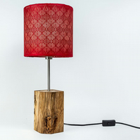 Bespoke Hand Crafted Solid Beach Lamp Base