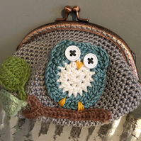 PATTERN ONLY - owl purse