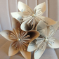 Junior bridesmaid paper bouquet