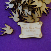 MDF Bird A 3cm - 30 x Laser cut wooden shape