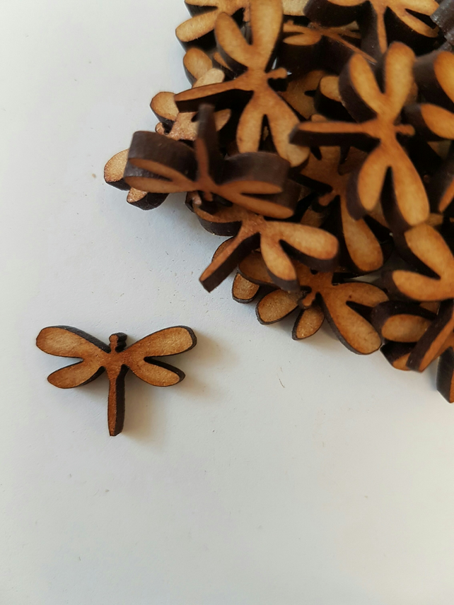 MDF Dragonfly 2cm - 50 x Laser cut wooden shape