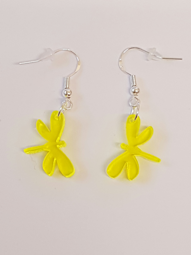Dragonfly Earrings - Acrylic
