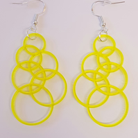 I'm forever blowing bubbles earrings - Acrylic