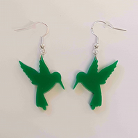 Hummingbird Earrings - Acrylic