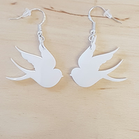 Little Bird Earrings - Acrylic
