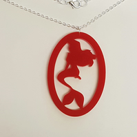 Mermaid Fairytale Necklace - Acrylic