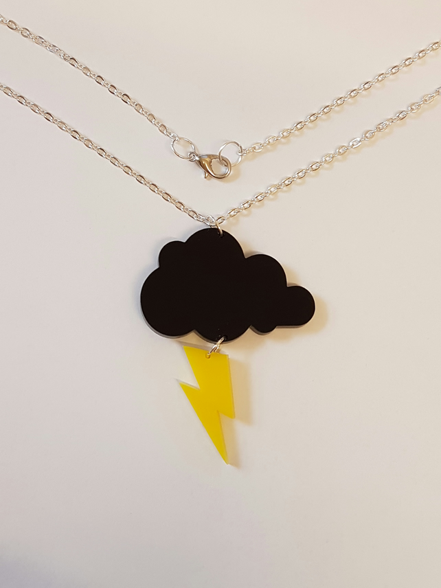 Thundercloud Necklace - Acrylic