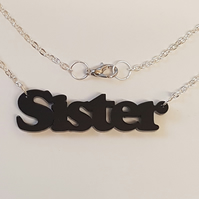 Sister Necklace - Acrylic