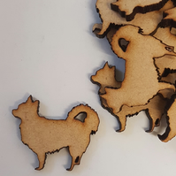 MDF Dog A 3cm - 40 x Laser cut wooden shape
