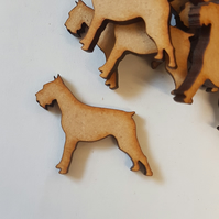 MDF Dog D 3cm - 40 x Laser cut wooden shape