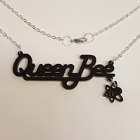 Queen Bee Necklace - Acrylic