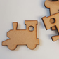 MDF Toy Train A 4cm - 25 x Laser cut wooden shape