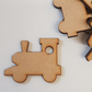 MDF Toy Train A 5cm - 15 x Laser cut wooden shape
