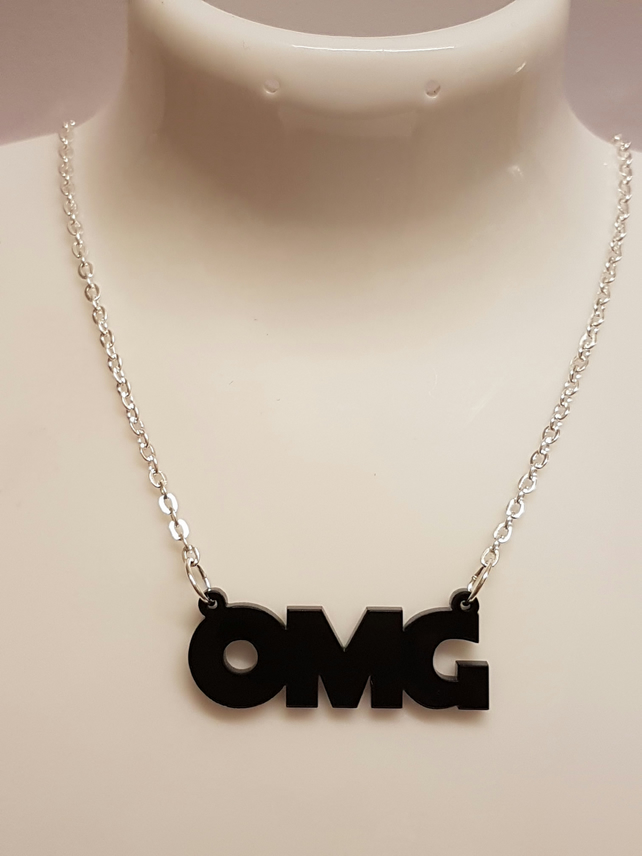OMG Necklace - Acrylic
