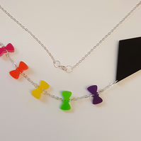 Let's go fly a kite Necklace - Multi Acrylic