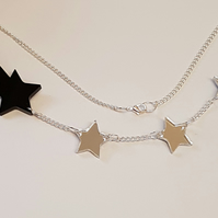 Magic Wand with Stars Necklace - Acrylic