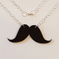 Movember Moustache Necklace D