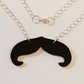 Movember Moustache Necklace E