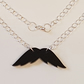 Movember Moustache Necklace F