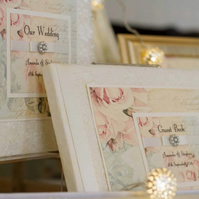 Shabby Rose - The Vintage Collection Wedding Guest Book