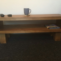 Coffee table hand made in the uk
