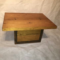 Hand Made Cube Coffee Table made in the UK By Unique Rustic