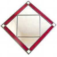Stain glass Mirror