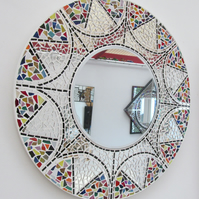 Handmade Stained Glass Mosaic mirror