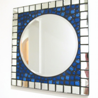 Small mosaic mirror