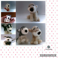 Needle Felted Pet Pawtraits- custom made for you