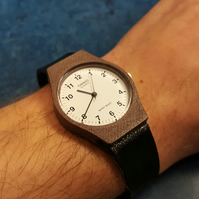 3D printed wooden watch