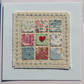 Little Heart Patchwork card