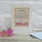Hand-stitched detailed miniature, very pretty, a card to keep!