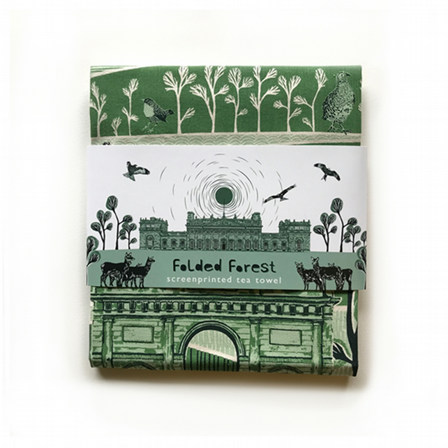 Cotton Tea Towel - Harewood