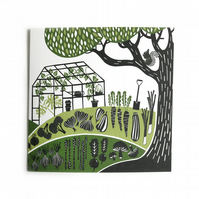 Allotment - Greetings Card