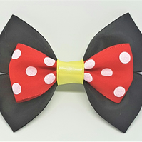 Minnie Mouse Hair Bow, Disney Cosplay , Disney Dress Up