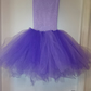Purple and Lavender Tutu Dress (age 8-9)