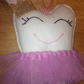 Girls Tooth Fairy cushion