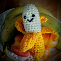 Barry the happy woolly banana