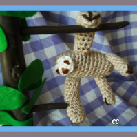 Cutest Crocheted Sloth